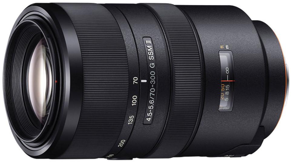 Объектив Sony 70-300mm f/4.5-5.6 G SSM …