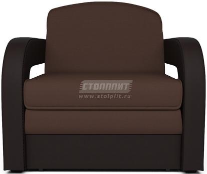 Кресло-кровать Столплит Карина-2 рогожка шоколадный 95x80x80 см
