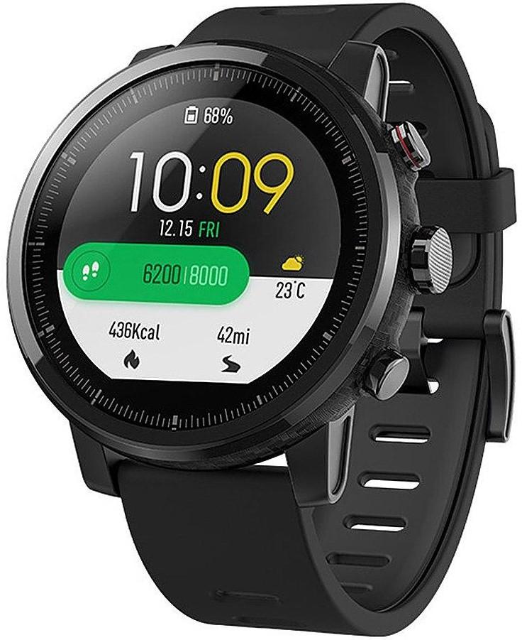 Умные часы Xiaomi Amazfit Stratos Black