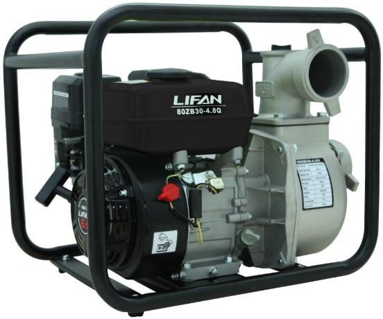 Мотопомпа Lifan 80ZB30-4.8Q