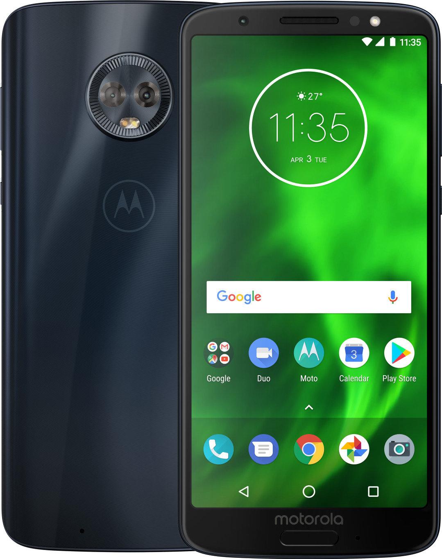 Смартфон Motorola Moto G6 XT1925-5 LTE 3Gb 32Gb Blue