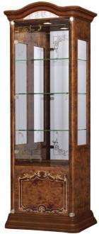 Витрина Интердизайн Роза 37.103.O коричневый/коричневый 2090x755x530 см (правая)
