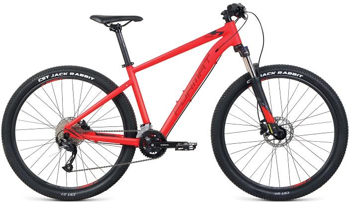 """Велосипед Format 1412 27.5 (2020) красный/матовый 27.5""""/S"""