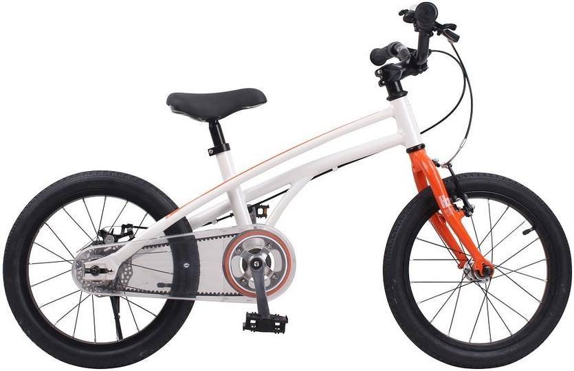 "Велосипед Royal Baby H2 All 18 бело-оранжевый 18"""