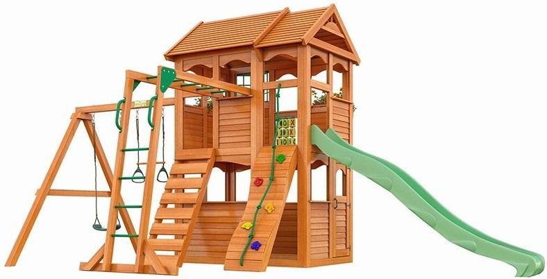 Игровой комплекс IgraGrad Fast Клубный домик 2 (с рукоходом)