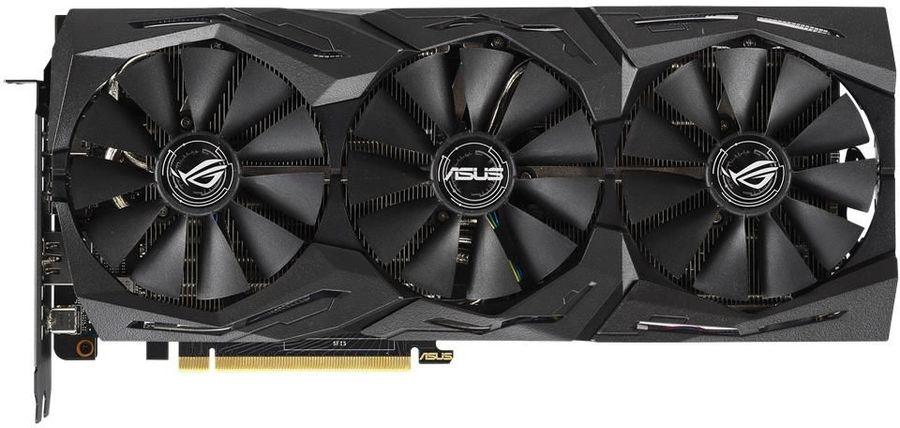 Видеокарта Asus GeForce RTX 2070 ROG Strix Gaming OC 8Gb