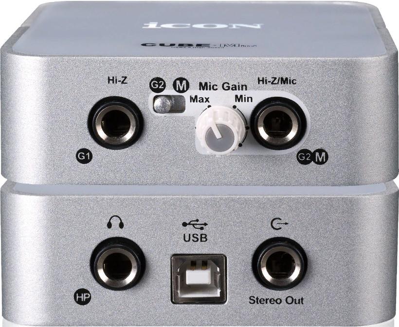 Звуковая карта Icon Cube Mini