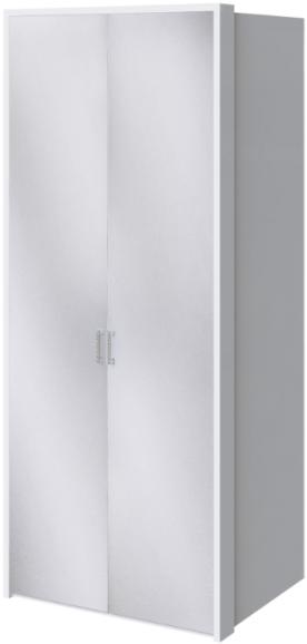 Шкаф Интердизайн Белла 28.22 белый глянец 221x97x60 см