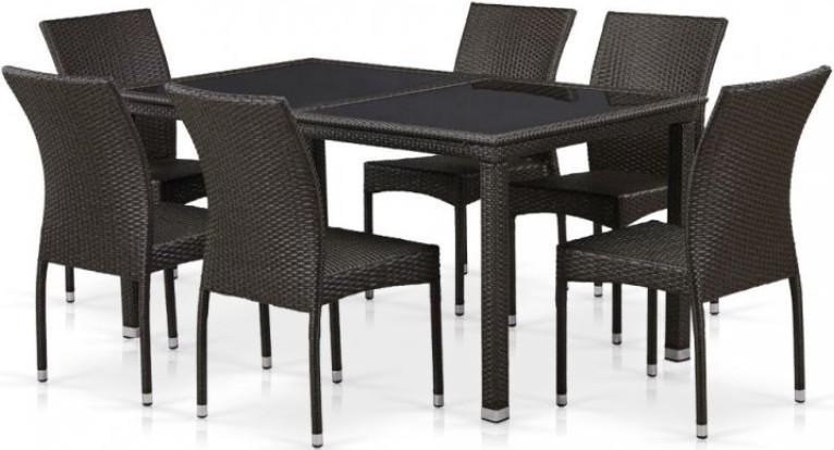 Комплект мебели Афина-Мебель T246B/Y380A коричнивый