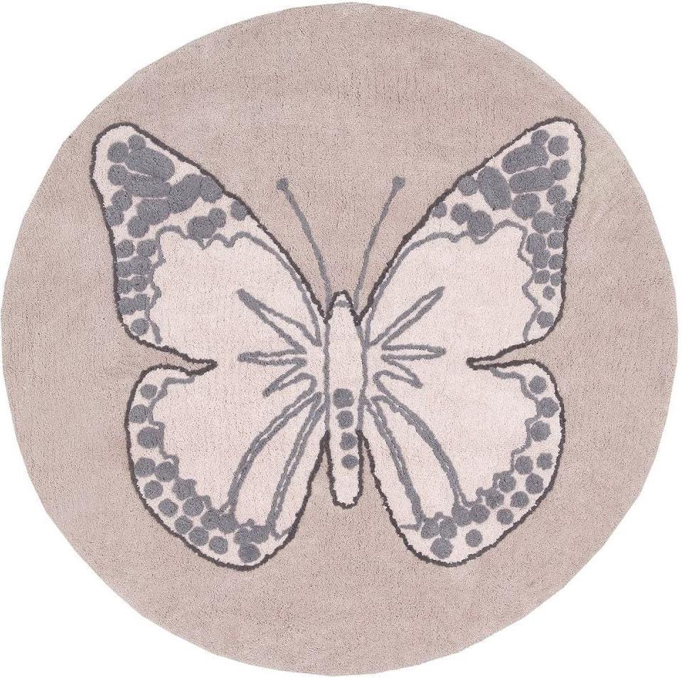 Ковер Lorena Canals Butterfly Vintage Nude 160х160 см