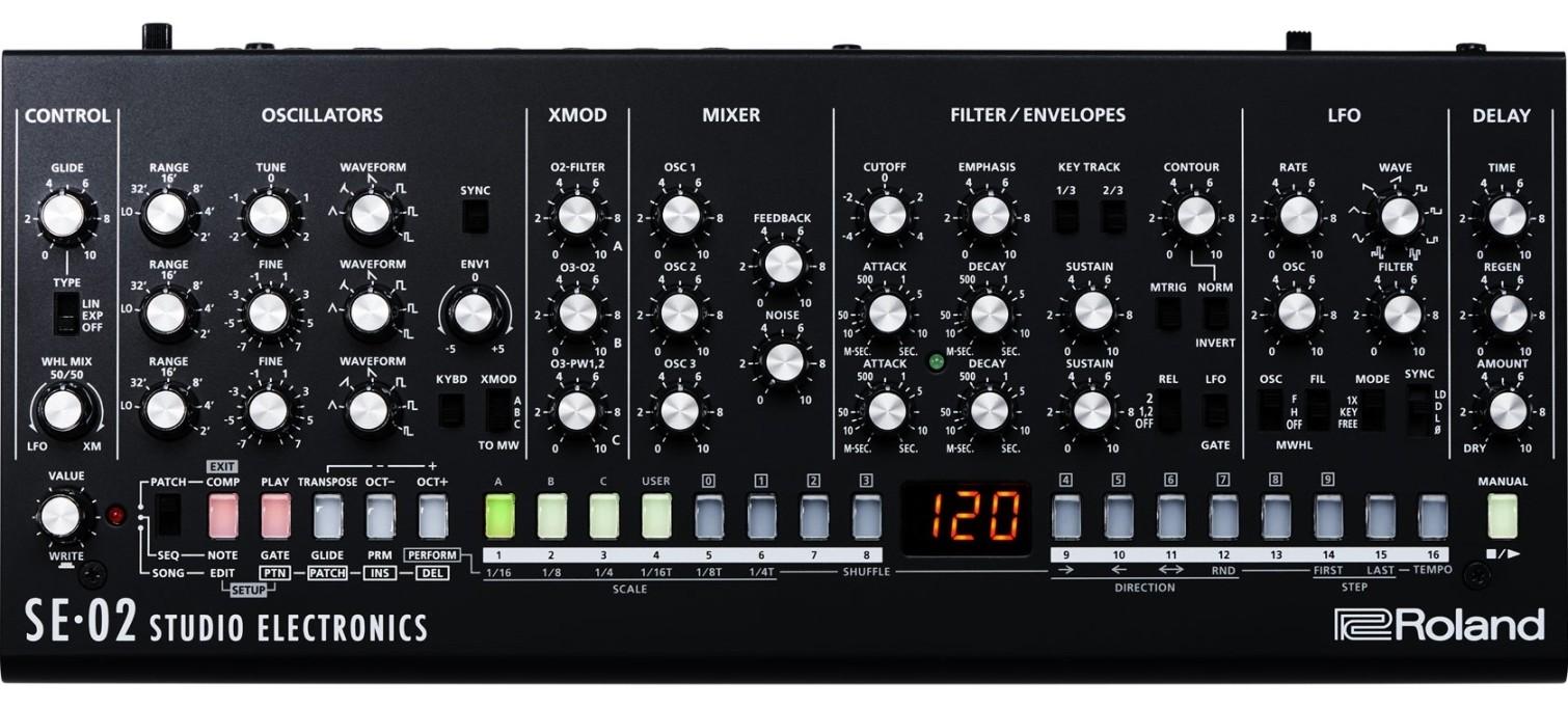 Синтезатор Roland SE-02