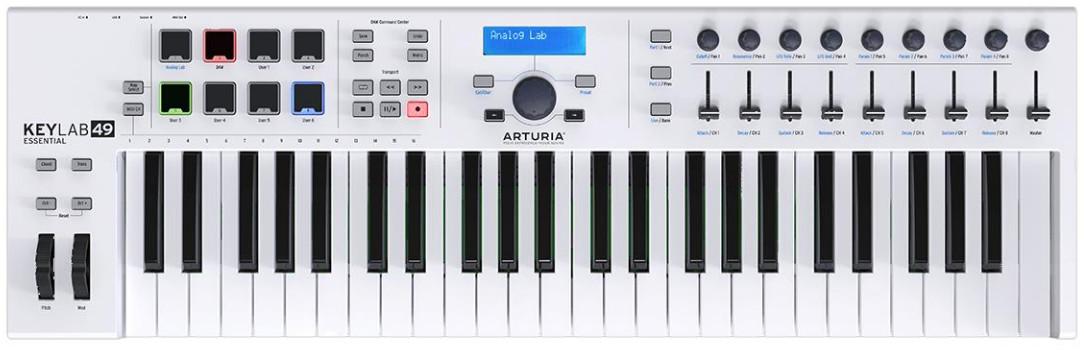 Миди-клавиатура Arturia KeyLab Essentia…