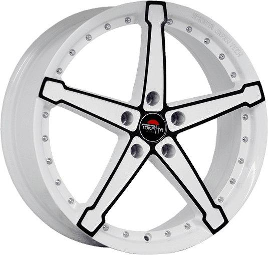 """Комплект дисков Yokatta Model-10 6,5jx16"""" 4/108 ET31 D65,1 W+B/белый + черный"""