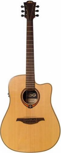 Акустическая гитара LAG GLA T88DCE