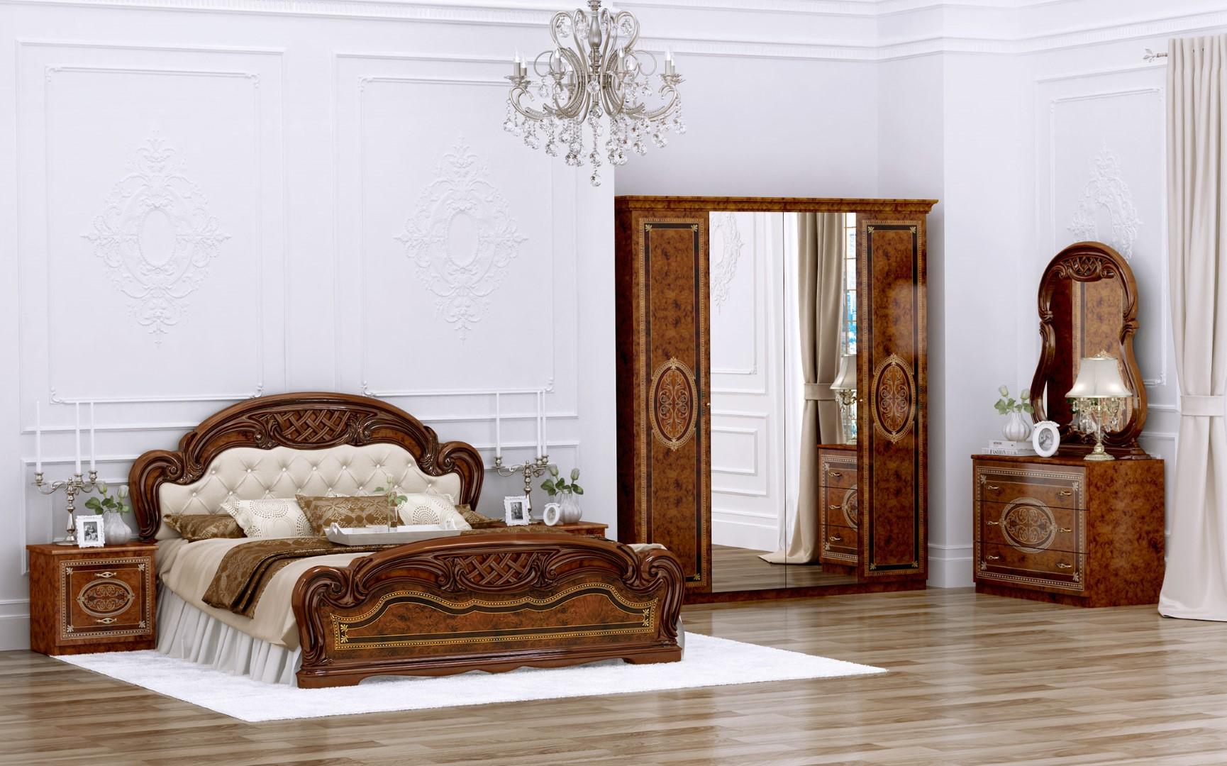 Спальня Интердизайн Лара коричневый/коричневый