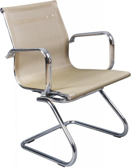 Кресло посетителя Бюрократ CH-993-LOW-V/GOLD золотой