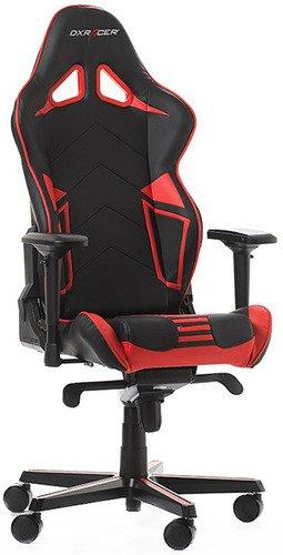 Игровое кресло DXRacer OH/RV131/NR черный/красный