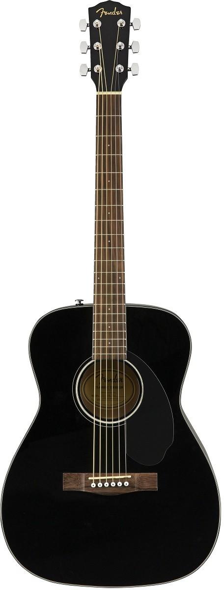 Акустическая гитара Fender CC-60S BLK