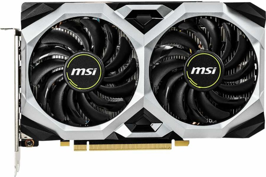 Видеокарта MSI GeForce GTX 1660 Ventus XS OCV1 6Gb
