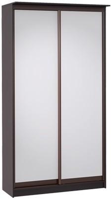 Шкаф-купе Цвет Диванов Тибр К-1 венге 125x44x234 см (двухдверный с зеркалом)