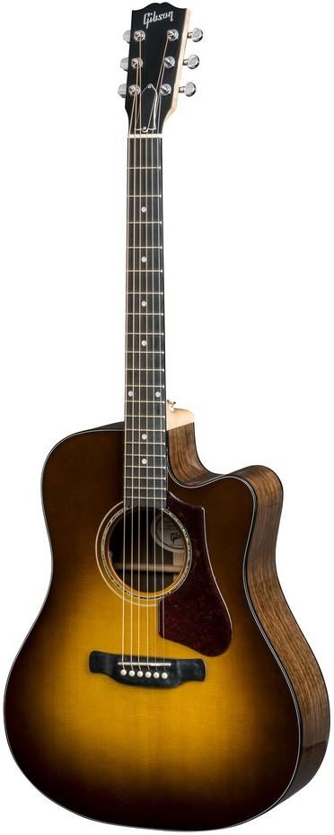 Акустическая гитара Gibson 2019 Hummingbird AG Walnut (Burst) Walnut Burst