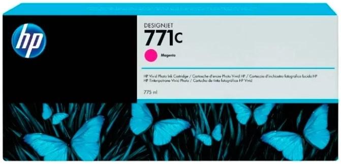 Картридж HP B6Y09A Magenta