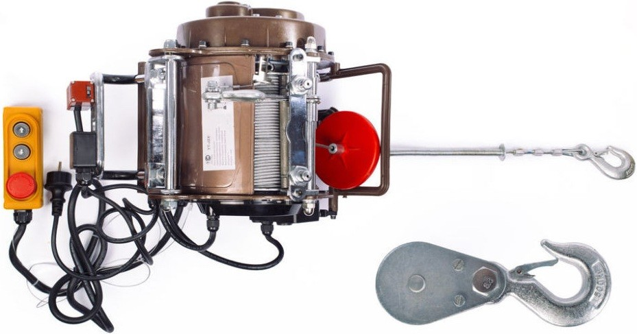Электрическая лебедка TOR YT-JZX-250/500 250-500кг/30-15м/220В