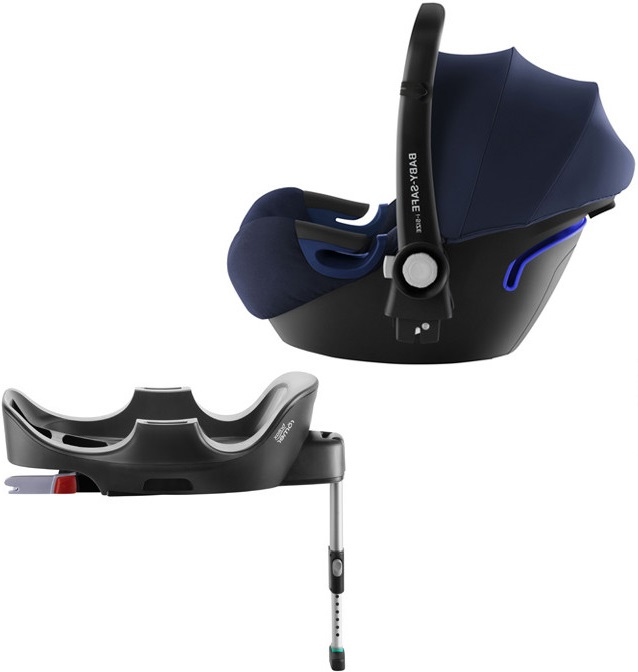 Автокресло Britax Roemer Baby-Safe2 i-Size Moonlight Blue (0-13 кг) + Base Flex