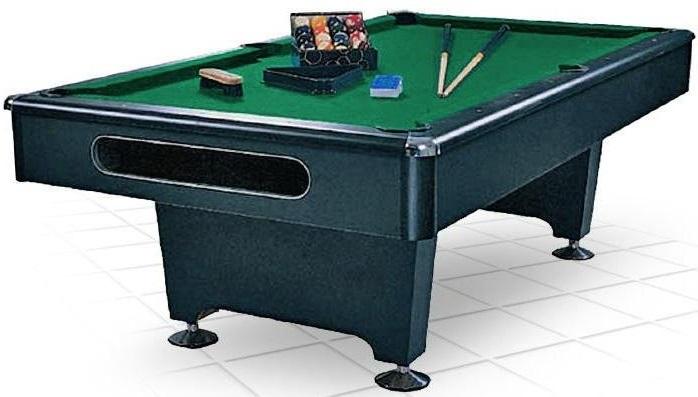 Бильярдный стол Weekend Eliminator 7FT черный