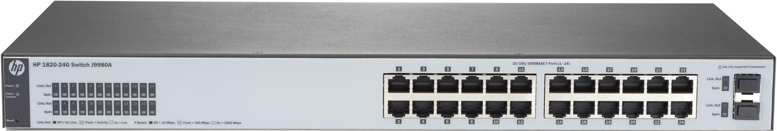 Коммутатор HP 1820-24G
