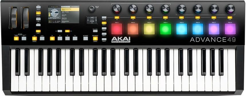 Миди-клавиатура Akai Pro Advance 49