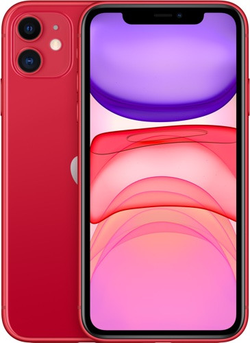 Смартфон Apple iPhone 11 128Gb (PRODUCT)RED 1️⃣1️⃣
