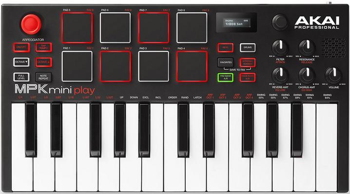Миди-клавиатура Akai MPK Mini Play