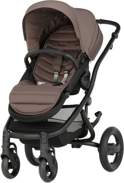 Коляска Britax Affinity 2 Black + Colour Pack Fossil Brown