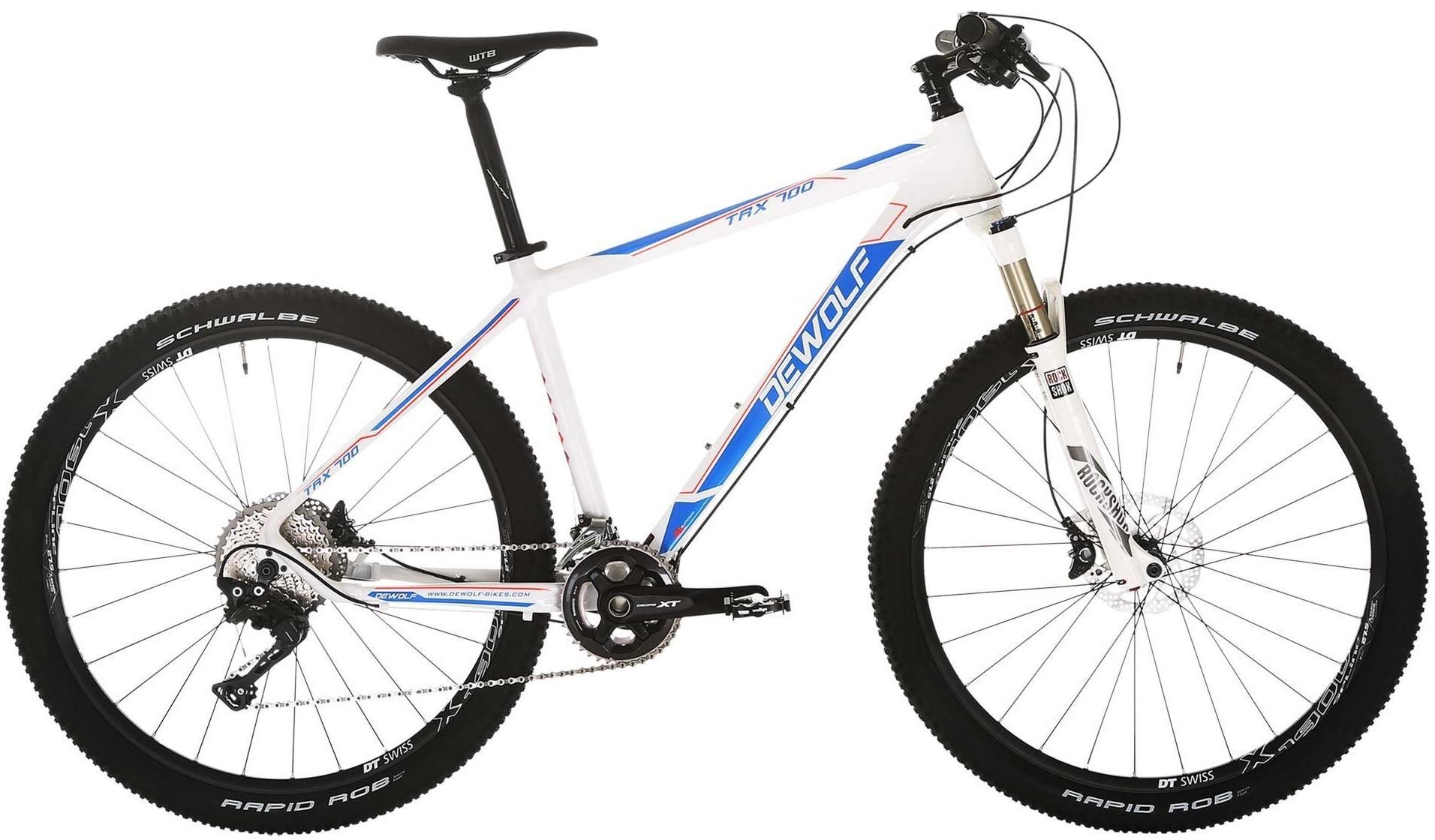 """Велосипед Dewolf TRX 700 белый/синий 27.5"""""""