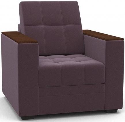 Кресло Цвет Диванов Атланта Next лиловый 90x92x94 см