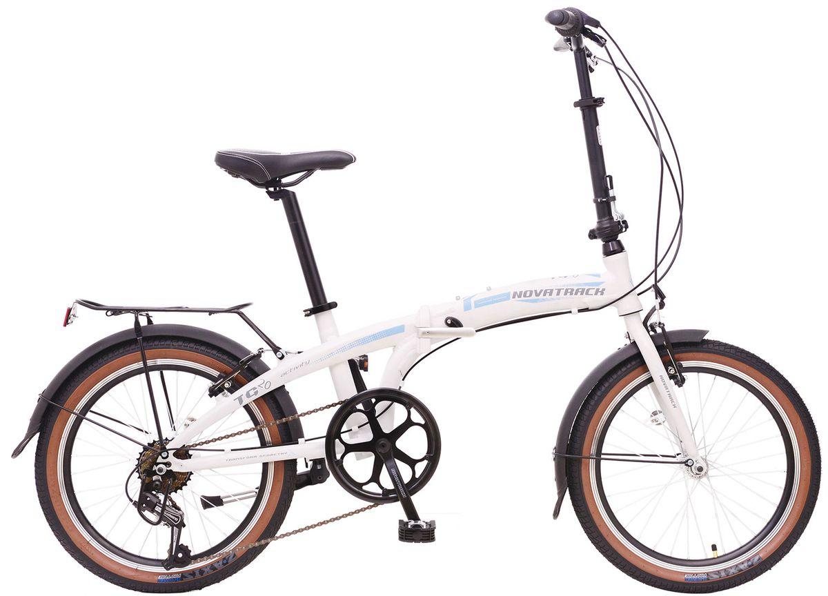 Велосипед Novatrack TG-20 (2016) белый/…