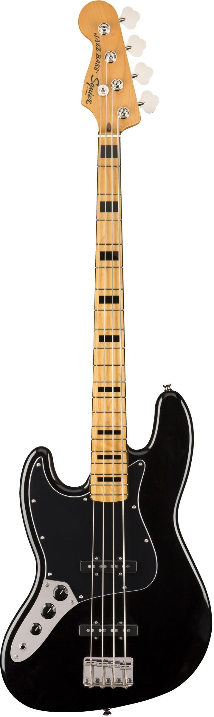 Бас-гитара Fender Squier SQ CV 70s Jazz Bass LH MN BLK