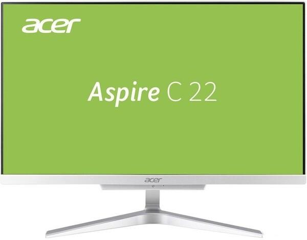 "Моноблок Acer Aspire C22-865 21,5""/2,2GHz/4Gb/1Tb/DOS Silver"