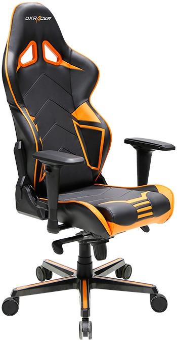 Игровое кресло DXRacer OH/RV131/NO черный/оранжевый