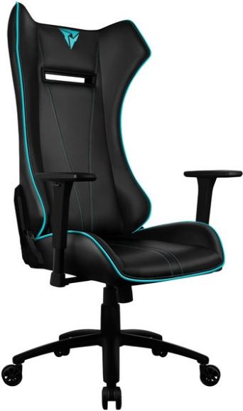 Игровое кресло ThunderX3 UC5 7 черный/голубой