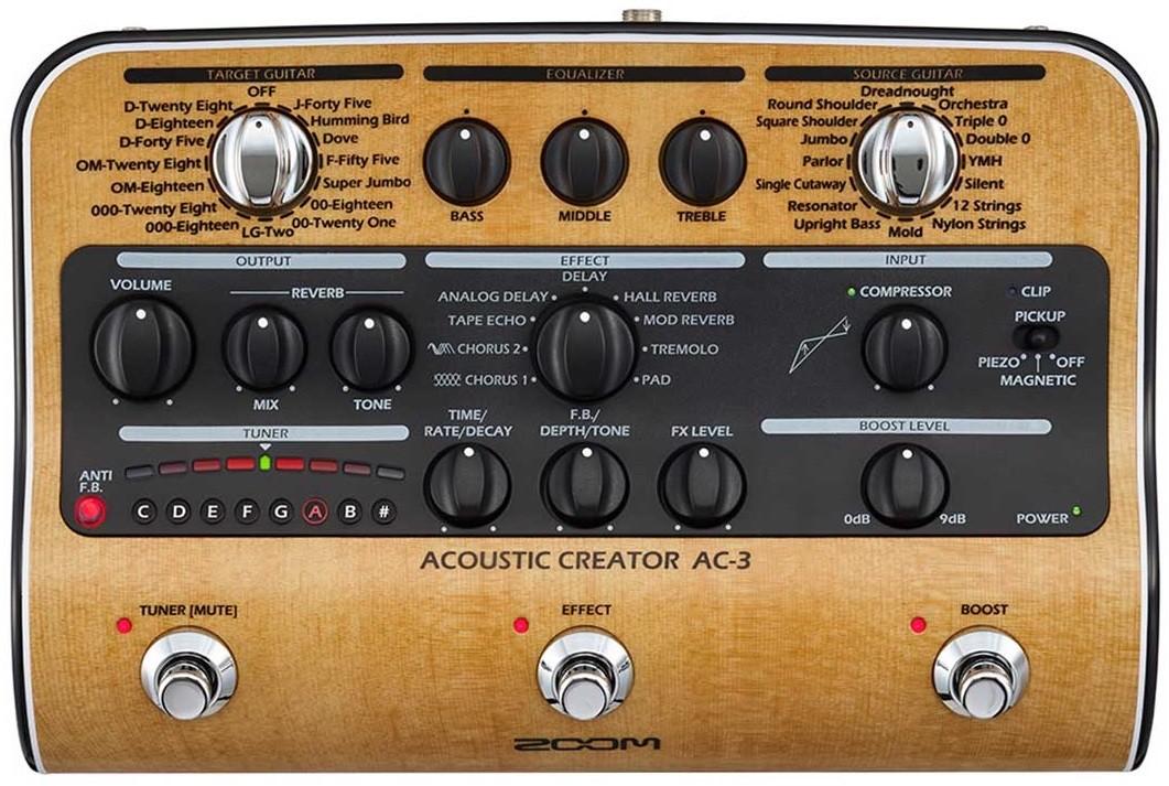 Процессор эффектов Zoom AC-3
