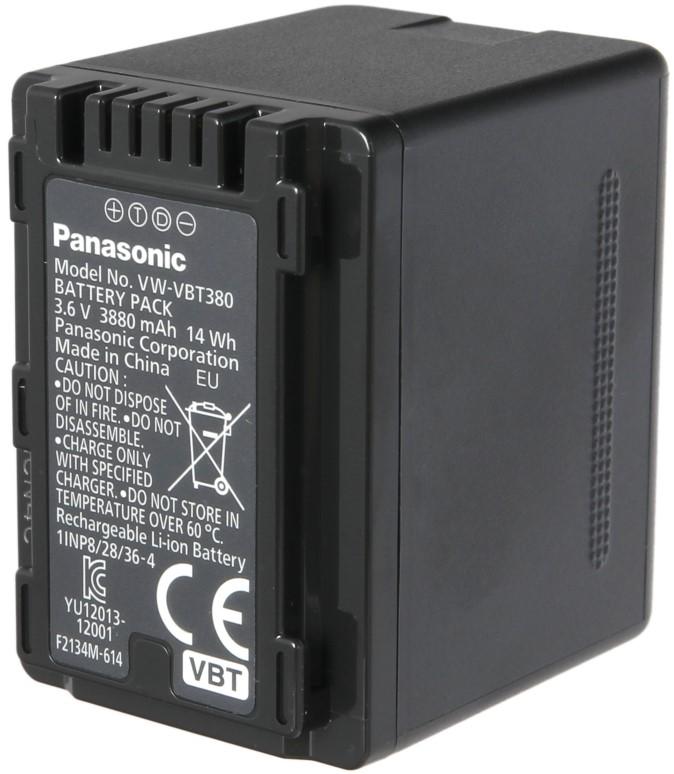 Аккумулятор Panasonic VW-VBT380E-K