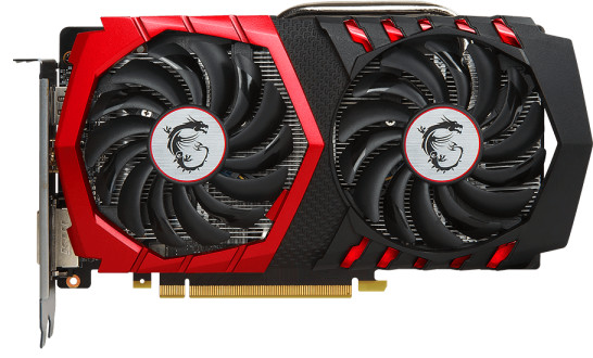 Видеокарта MSI GeForce GTX 1050 Ti Gaming 4Gb