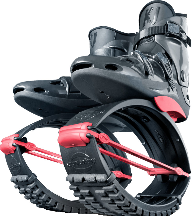 Джамперы Kangoo Jumps KJ-Pro7 Black/Red (размер 36-38)