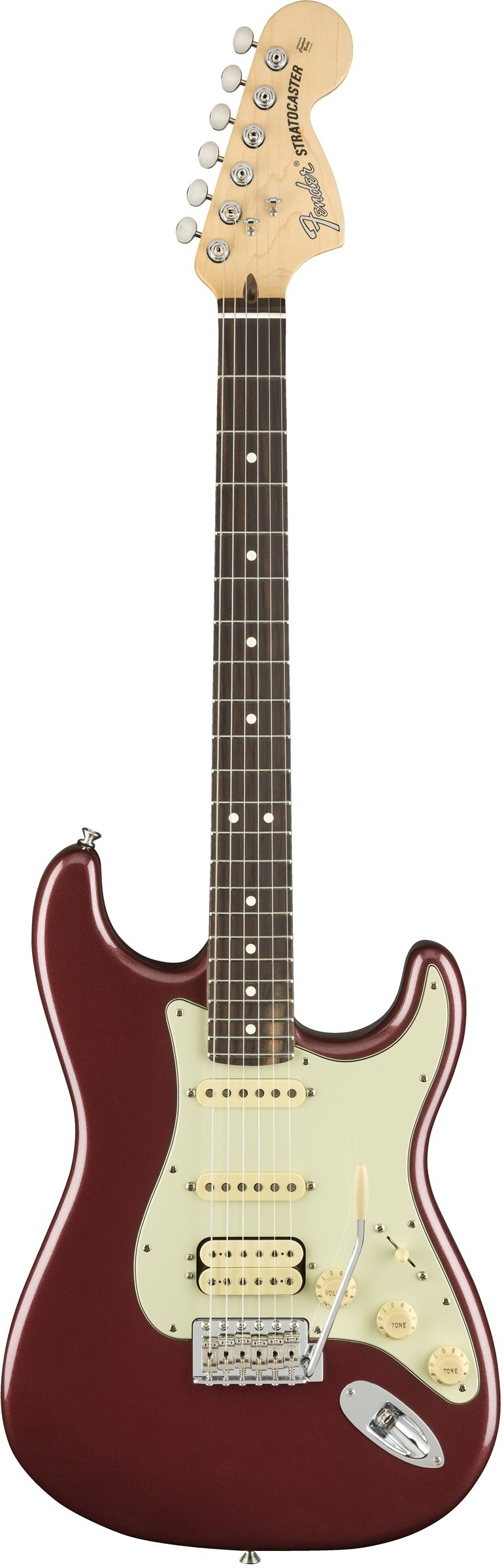 Электрогитара Fender American Performer Stratocaster HSS Rosewood Fingerboard Aubergine