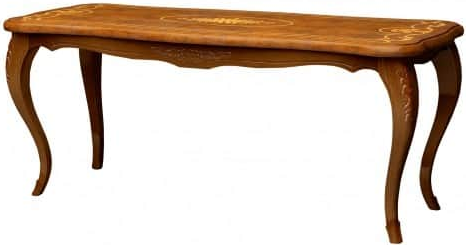 Журнальный столик Интердизайн Роза коричневый/коричневый 475x800x420 см