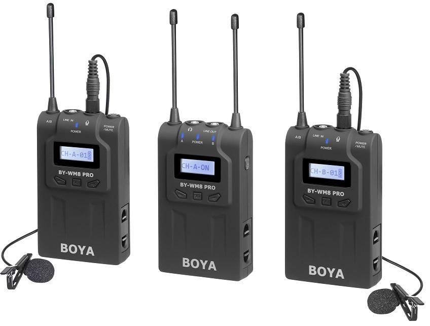 Передатчик Boya BY-WM8 Pro-K2 (TX8 + RX…