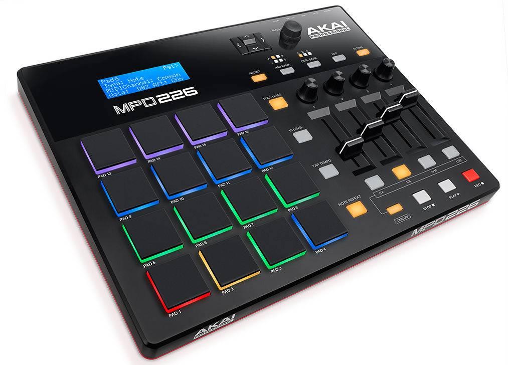 Dj-контроллер Akai MPD226