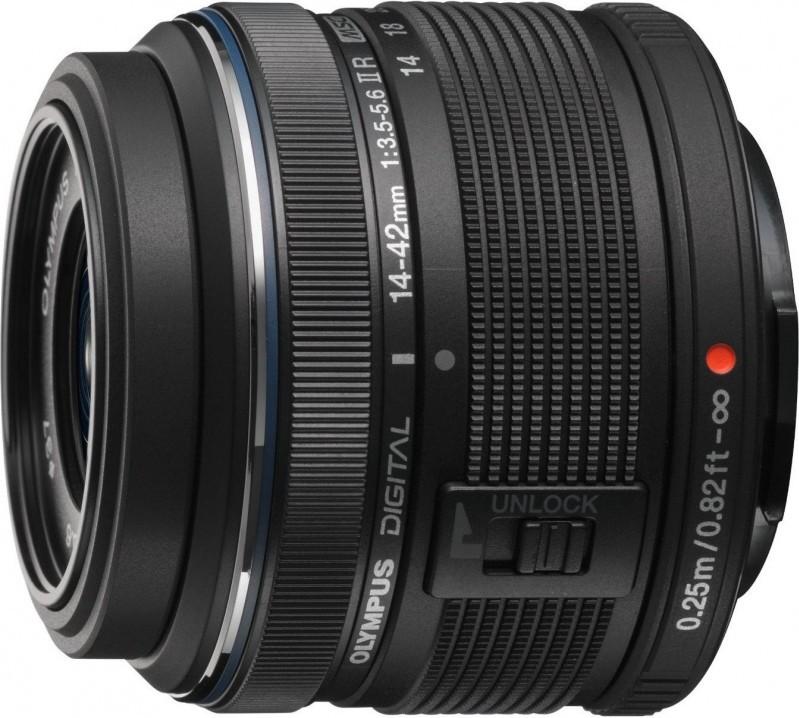 Объектив Olympus M.Zuiko Digital 14-42mm f/3.5-5.6 II R Black